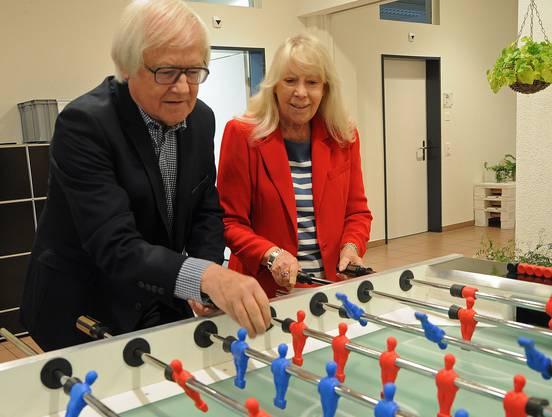 Gilbert Gress und seine Frau Béatrice sind seit 53 Jahren verheiratet. Sie haben Tochter Cathy (52) und Sohn Franck (45) grossgezogen.