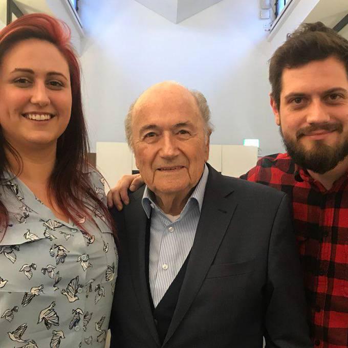 Sepp Blatter polarisierte schon immer, der Ufsteller wollte herausfinden, was der Ex-FIFA Präsident heute macht
