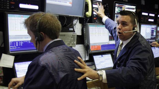 Börsenhändler an der Wall Street (Archiv)