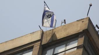 Die israelische Botschaft in Kairo. Bild von 2011.