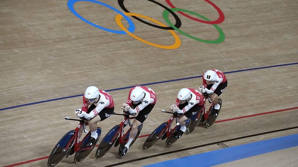 Bahnvierer im 8. Schlussrang - Italien mit Weltrekord zu Gold