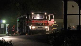 72 Feuerwehrleute waren im Einsatz.