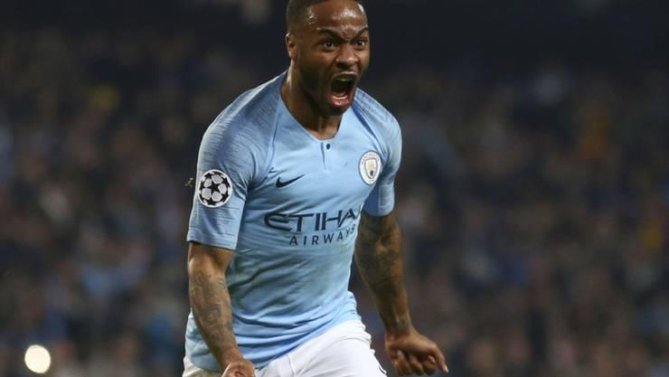 Immer wieder Opfer von Rassismus: Manchester Citys Stürmerstar Raheem Sterling