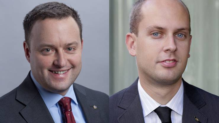 Sebastian Frehner (l.) und Joël Thüring trennen sich.