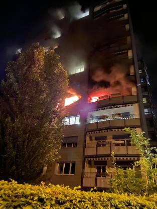 Der Brand war rasch gelöscht.