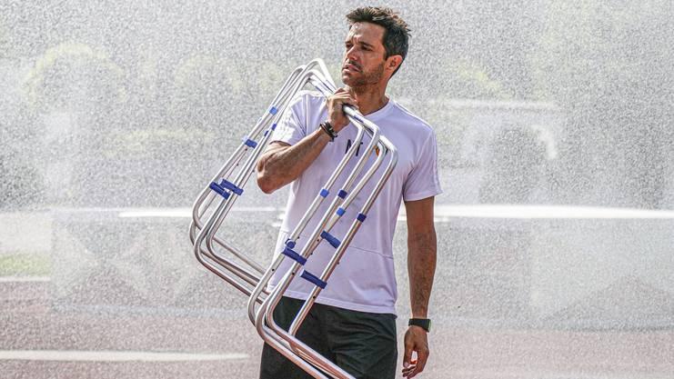 Leiter Fitness Ignacio Torreño.