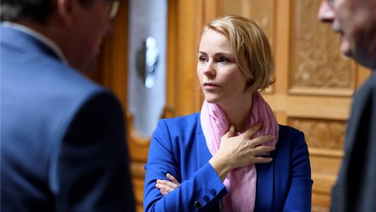 Die Regierung soll für rückfällige Täter die Verantwortung übernehmen, forderte Natalie Rickli. Der Regierungsrat lehnt dies ab.