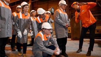 Roberto Zanetti lädt zur Visite im Stahlwerk Gerlafingen