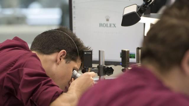 Es gibt mehr Uhren-Jobs als vor der Krise (Archiv)