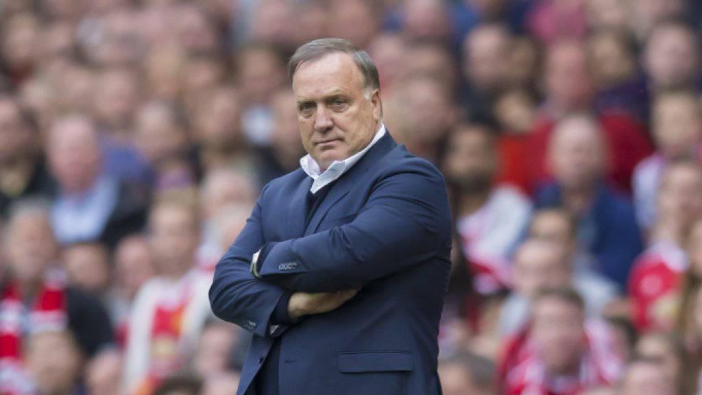 Advocaat tritt als Sunderland-Trainer zurück