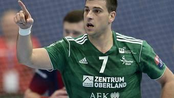 Nikola Isailovic trug massgeblich zum Sieg der Thuner bei