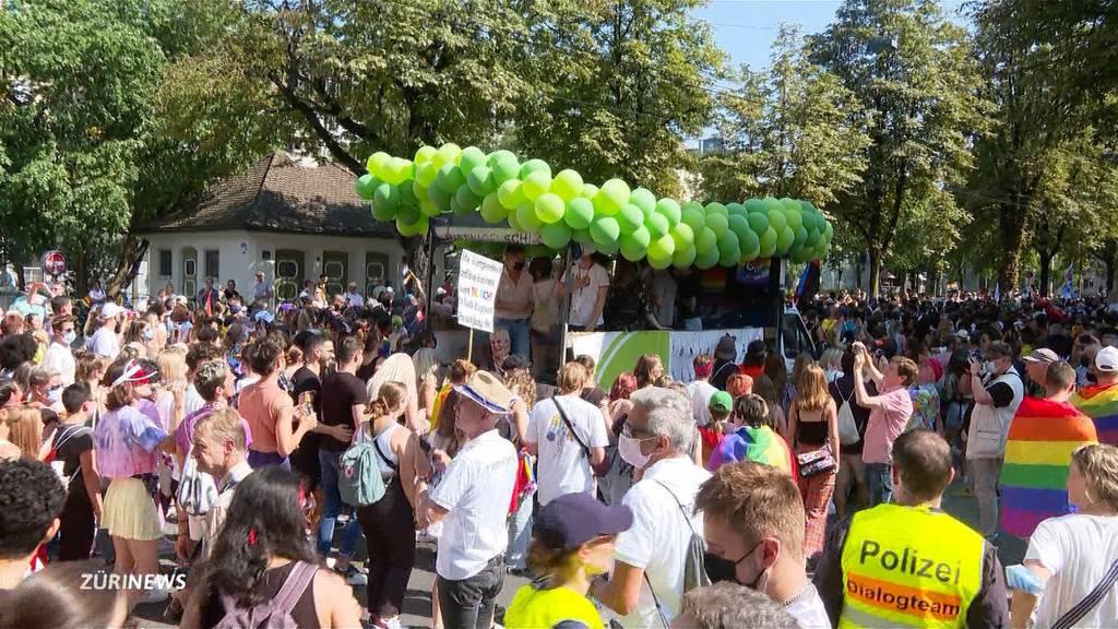 Pride-Festival in Zürich