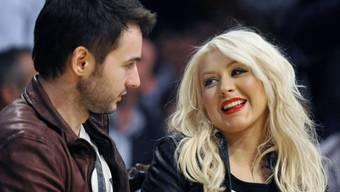 Werden Eltern: Christina Aguilera und Matthew Rutler (Archiv)