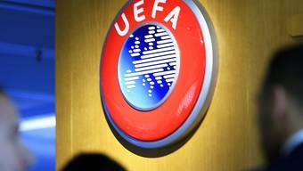 Das Logo der UEFA