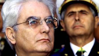 Schafft Sergio Mattarella die Wahl zum Staatspräsidenten?