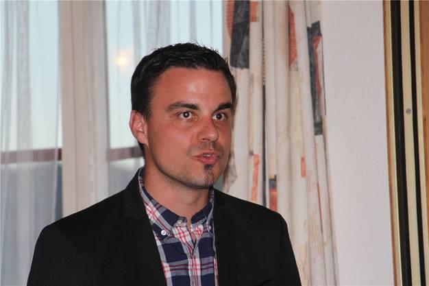 Andreas Peer, Präsident des Vereins.