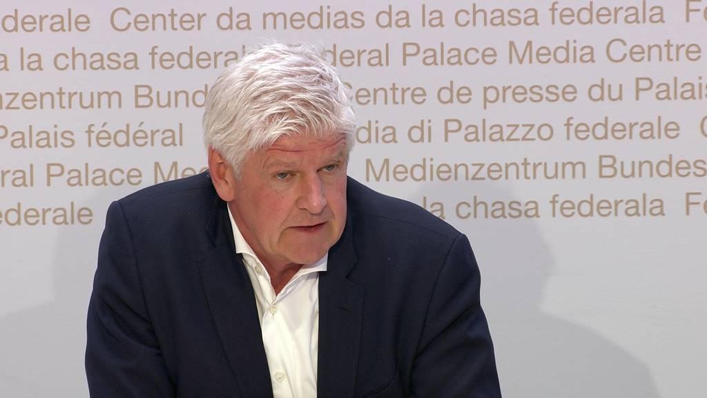 Hans-Peter Lenz: «Die umfangreiche Rückholaktion des Bundes hat den Höhepunkt erreicht.»