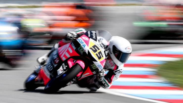 Romano Fenati lässt seine Moto3-Konkurrenten hinter sich und gewinnt sein 11. GP-Rennen
