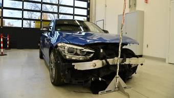 Für die Dauer der Unfall- / Tatbestandsaufnahme musste die A22 gesperrt werden.