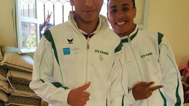 Grabser Tenues an Marathon in Marokko