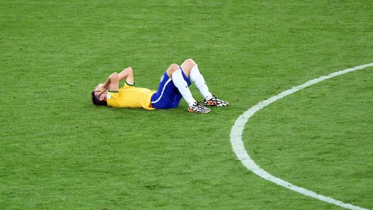 Brasilien wird nach der Blamage gegen Deutschland im Spiel um Platz 3 um die Ehre kämpfen müssen.
