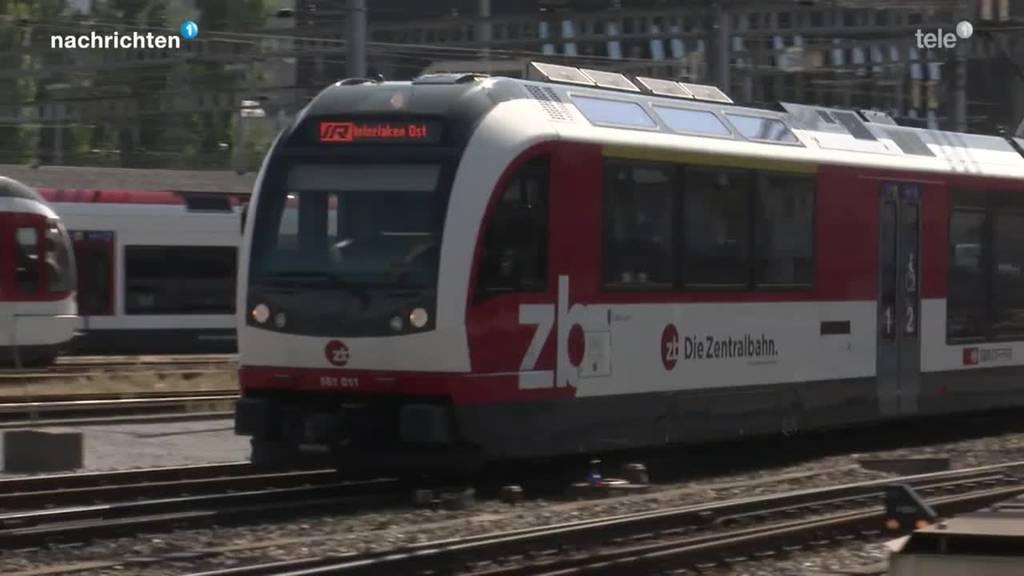Zufahrt Bahnhof Luzern wird für Zentralbahn gesperrt