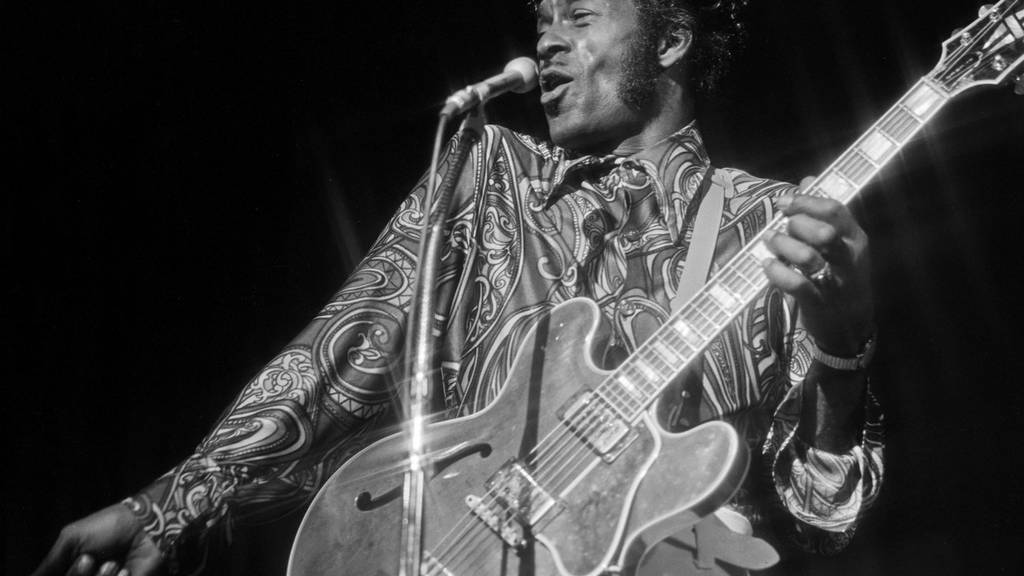 Chuck Berry war Mr. Rock'n'Roll