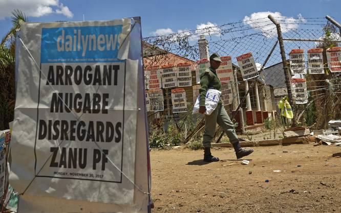 Simbabwe feiert Mugabe-Entmachtung