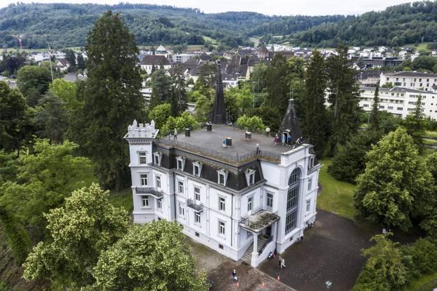 12 Jahre lang war das Schloss Zurzach…