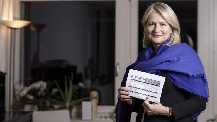 Psychotherapeutin Judith Guyer aus Aesch: Als sie ihren Wahlzettel vor vier Wochen in der Sihlpost in Zürich abschickte, hätte sie am liebsten laut «Go Biden» gerufen.