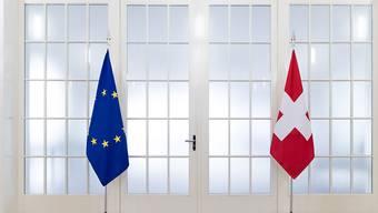 """Die Aufhebung der Personenfreizügigkeit mit der EU sei """"ein Frontalangriff auf den Werkplatz Schweiz"""", argumentieren die Sozialpartner der MEM-Industrie. Aus ihrer Sicht ist die EU der mit Abstand wichtigste Absatzmarkt der Branche mit ihren 320'000 Angestellten. (Symbolbild)"""