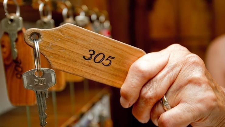 Erfreulicher Jahresstart: Schweizer Hotels verzeichneten im Januar erneut mehr Übernachtungen. (Archiv)