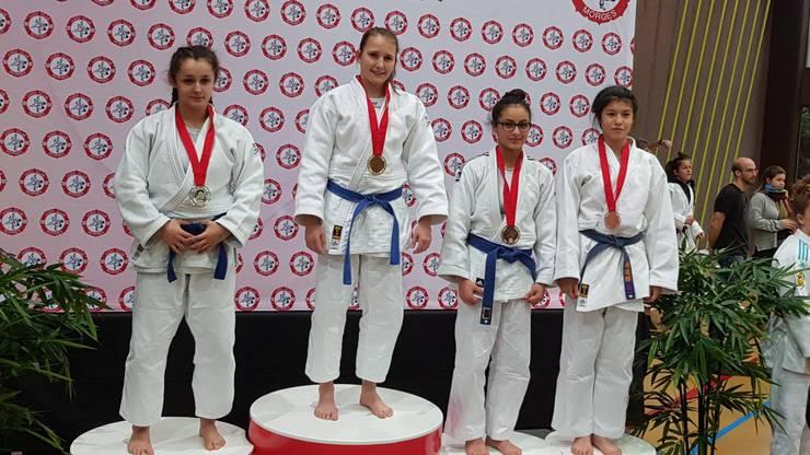 Yasmin Abbani, Bronze in der Kategorie U18 -52kg