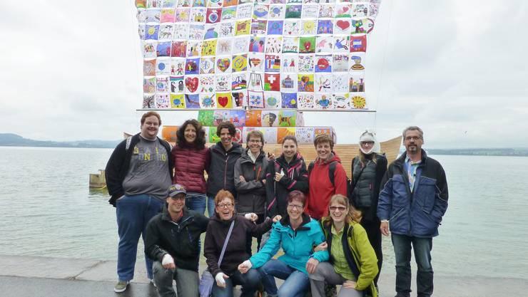 Unser Bild: Der Samariterverein Herznach auf Vereinsreise ins Zugerland