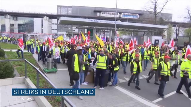 Streik in Deutschland betrifft auch Flughafen Belp