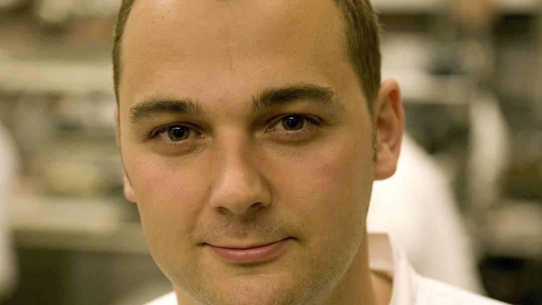 Daniel Humm bereitet ein «Gruyere-Sandwich» zu