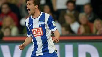 Valentin Stocker sichert den Berlinern dank seinem Tor einen Punkt
