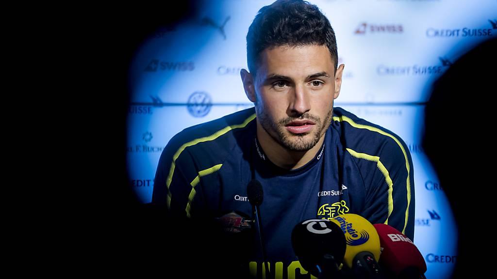 Trotz Knieverletzung im Februar ist Fabian Schär für die EM bereit