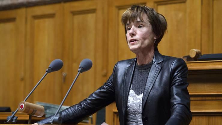 Einflussreiche CVP-Politiker versuchen, die Aargauerin Ruth Humbel Näf zu einer Kandidatur zu bewegen.