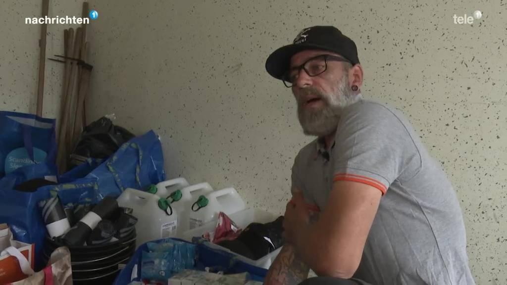 Hilfe für Unwetteropfer in Deutschland