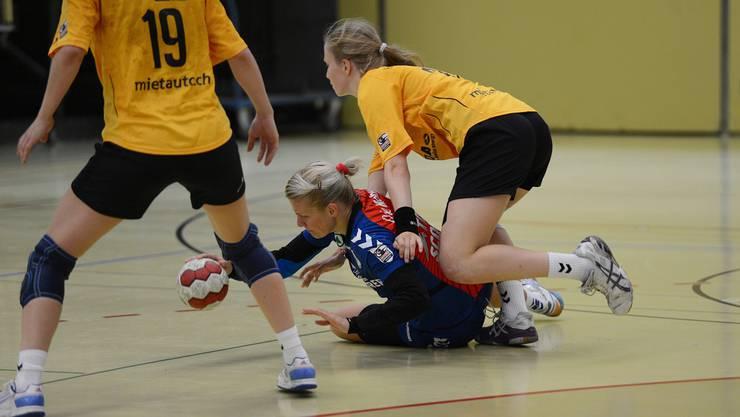 Handball Frauen: Basel Regio - Yellow Winterthur Mitte-Nr.55 Monika Pelka, SC Basel Regio