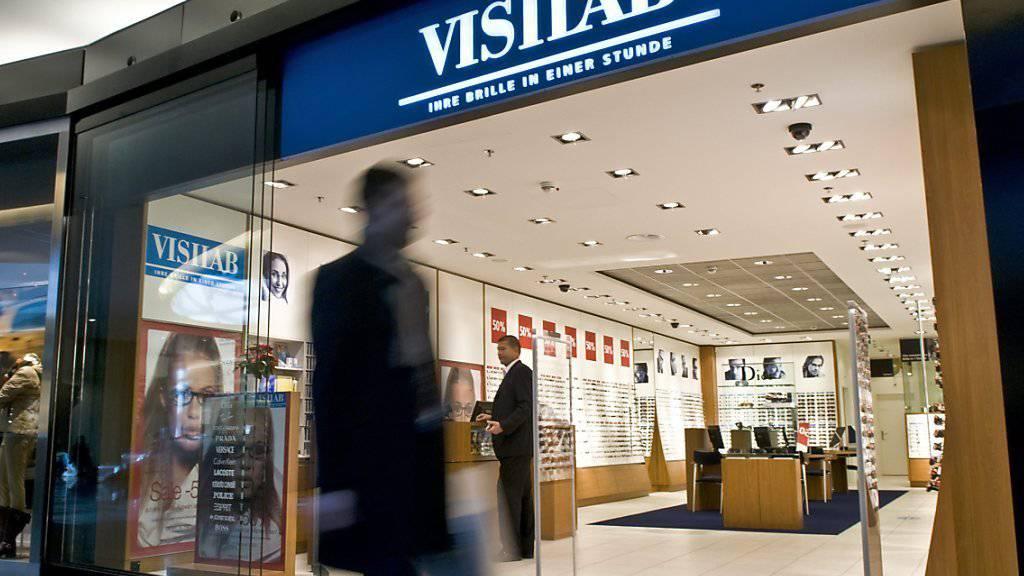 Visilab-Filiale im Einkaufszentrum Sihlcity in Zürich: Das Unternehmen ist im letzten Jahr weiter gewachsen.