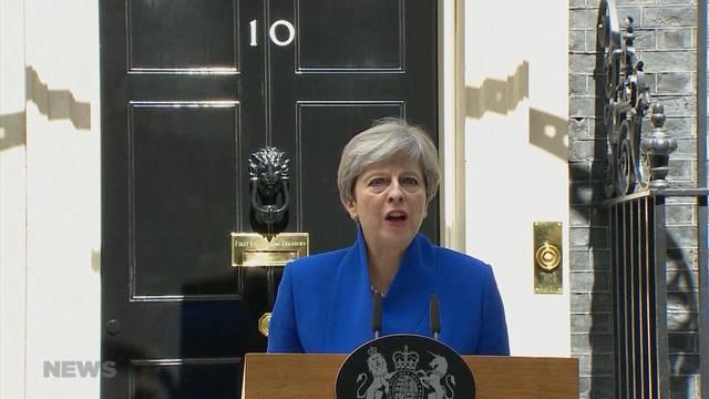 Herbe Niederlage für britische Premierministerin