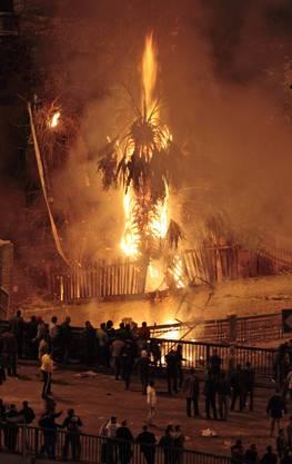 Ausschreitungen auf dem Tahrir-Platz