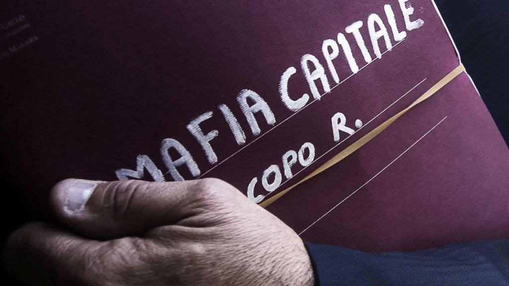 Mit dem Anti-Mafia-Kodex will Italiens Parlament den Kampf gegen die Mafia verstärken, namentlich in der Wirtschaft (Archiv)