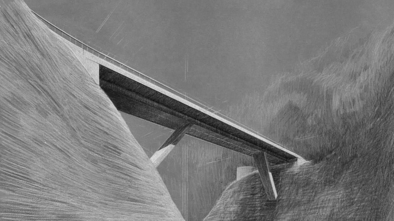 Visualisierung Neubau Chlusbodenbrücke