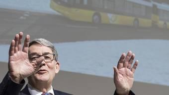 «So etwas darf nie wieder passieren»: Verwaltungsratspräsident Urs Schwaller verspricht eine lückenlose Aufarbeitung der Postauto-Affäre.
