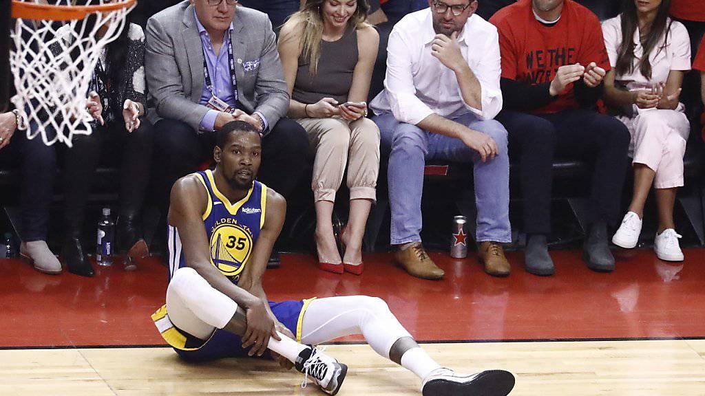 Musste das Comeback früh abbrechen: Kevin Durant