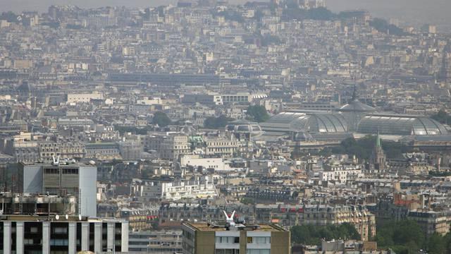 Blick auf die Millionenmetropole Paris (Archiv)