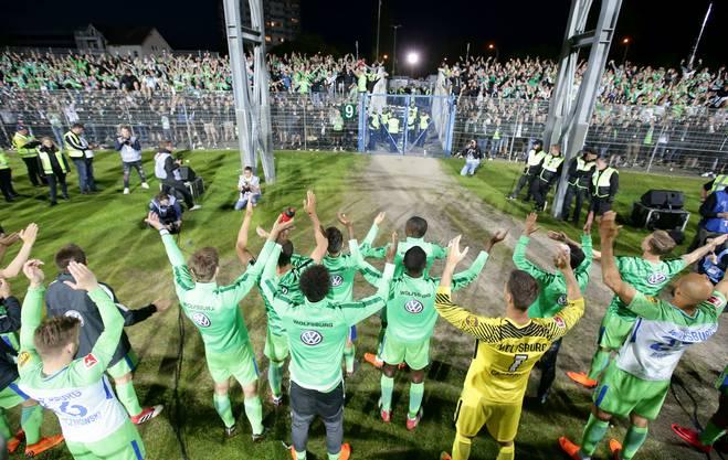 Beim VfL Wolfsburg spürt man die Erleichterung nach dem Bundesliga-Klassenerhalt
